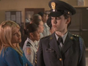 Frontin' on Cadet Kelly? Yeah, I DON'T THINK SO